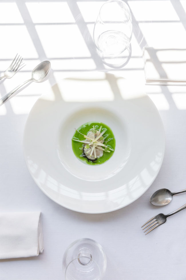 ostra apio manzana verde - Restaurante 2 Estaciones